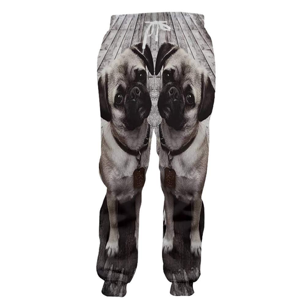 Pantalones de chándal para Hombre con Estampado de Animales, Color ...