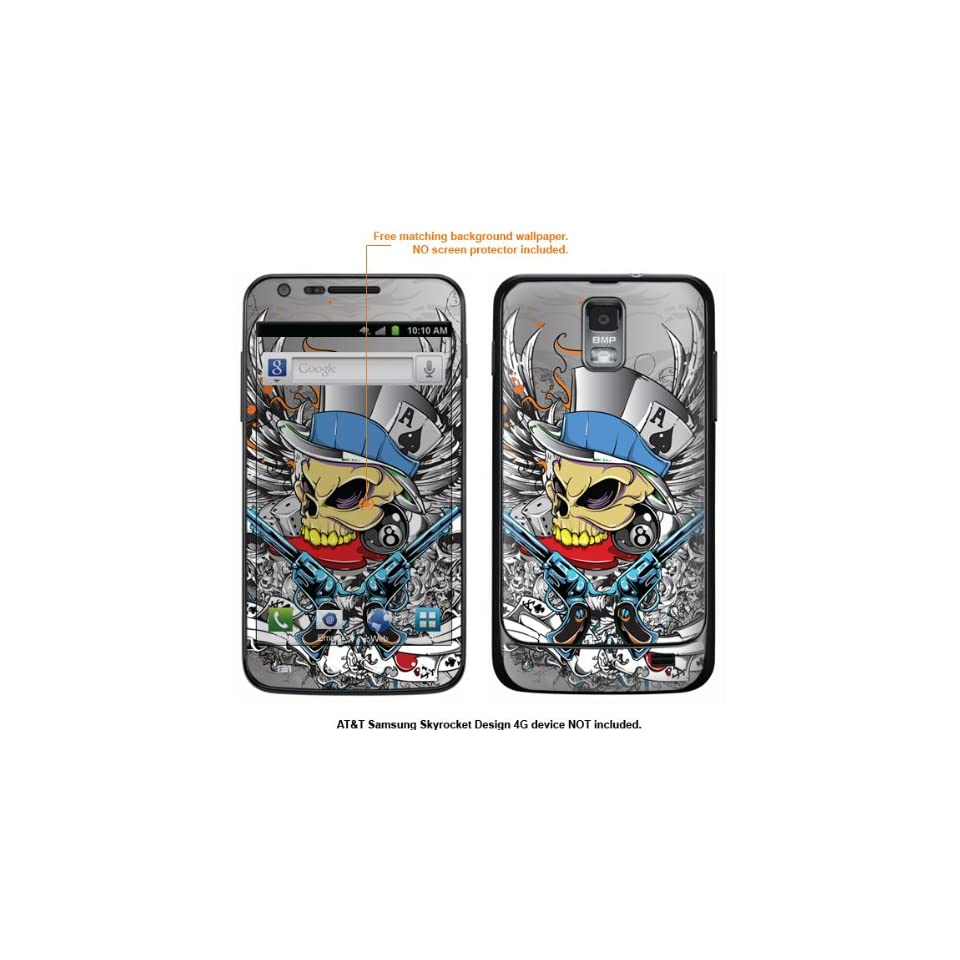 Protective Decal Skin Sticker for Samsung Galaxy S II Skyrocket (AT&T Model) case cover Skyrocket 408 Cell Phones & Accessories
