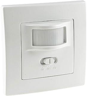 SEBSON® 2X Detector de Movimiento Empotrable, Interior, LED ...