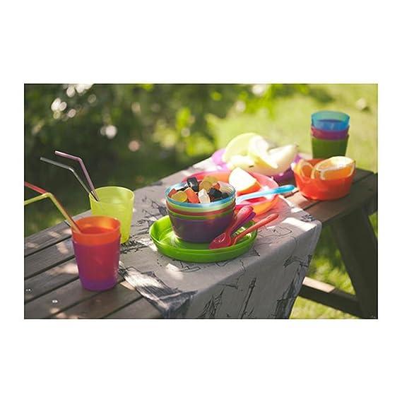 Vasos de diseño moderno, colores surtidos, plástico, para uso diario y fiestas: Amazon.es: Hogar