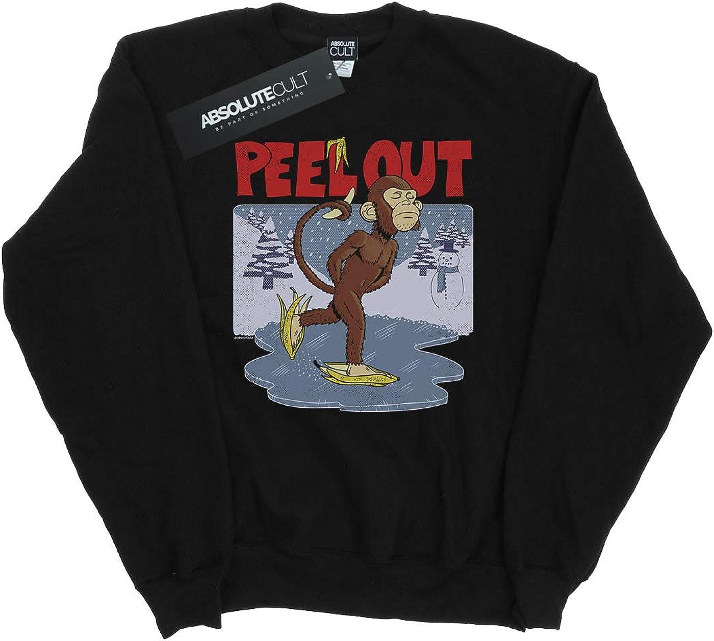 Absolute Cult Pennytees Girls Peel Out Sweatshirt