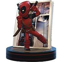 Quantum Mechanix Deadpool 4D Q-Fig Diorama, Marvel Action Figure