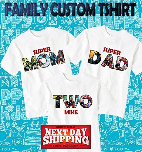 f203c5ac6 Amazon.com: The Avengers Birthday Shirt, The Avengers Custom Shirt,  Personalized The Avengers, The Avengers family shirts, Birthday t-shirts  d21: Handmade