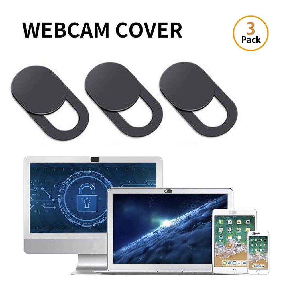 Leegoal Couverture Webcam, Ultra-Thin camé ra Web Couverture Slide pour Ordinateur Portable, Ordinateur, MacBook Pro, Mac, PC, Surface Pro (3Pcs) Ultra-Thin caméra Web Couverture Slide pour Ordinateur Portable 6494609799016