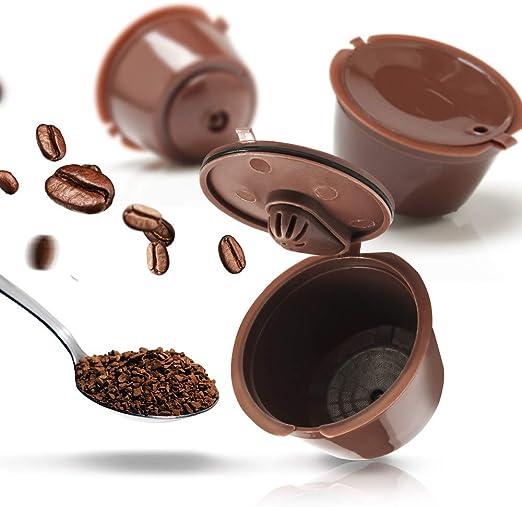 KANGBOOS Filtro de café 2/3/6 Piezas/Paquete 3ro Cápsula de café ...