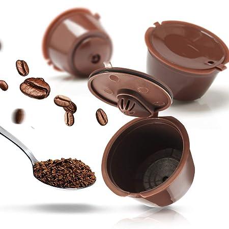 KANGBOOS Filtro de café 2/3/6pcs/packet 3rd Reusable Dolce Gusto ...