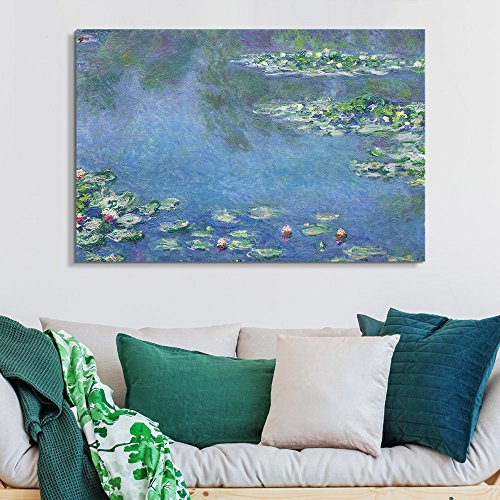 Famous Painting of Water Liliesby Claude Monet
