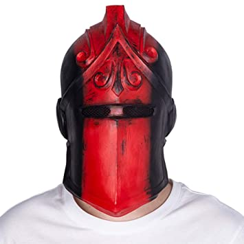 Yacn Fortnite Red Knight Mask Halloween Cosplay Máscara Disfraz Juego Juguete