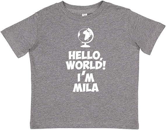 Personalized Name Toddler//Kids Short Sleeve T-Shirt My Name is Joseph Everyone Mashed Clothing Hi