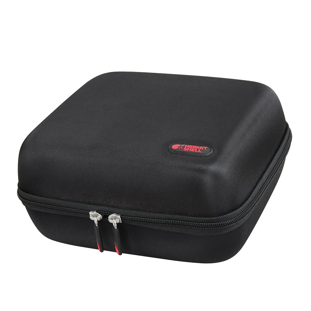 Hard EVA Travel Case for DBPOWER RD-810 LED Portable Multimedia Home Theater Video Projector Supporting 1080P with HDMI USB VGA AV by Hermitshell