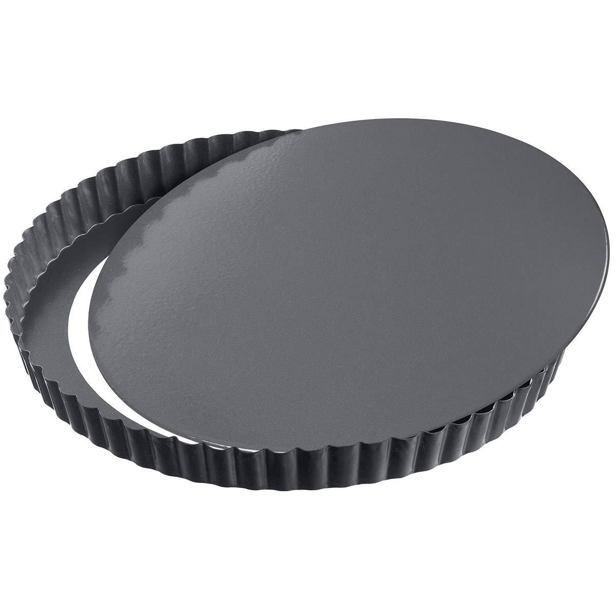Kaiser 23 0063 7259 La Forme Plus Quiche Pan, Black