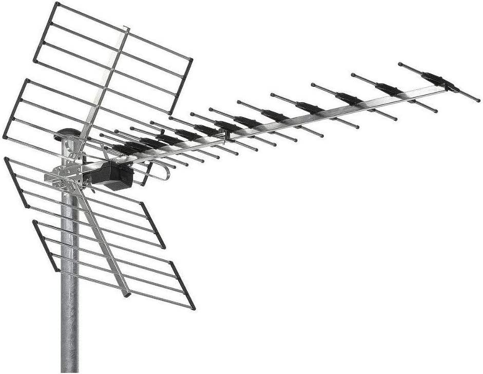 Antena TER UHF 44 ELEMENTS C 21/48 LTE: Amazon.es: Electrónica