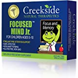Creekside Natural Therapeutics  Focused Mind Jr. Focus and Memory Supplement for Children (60 EZ Melt Tablets)