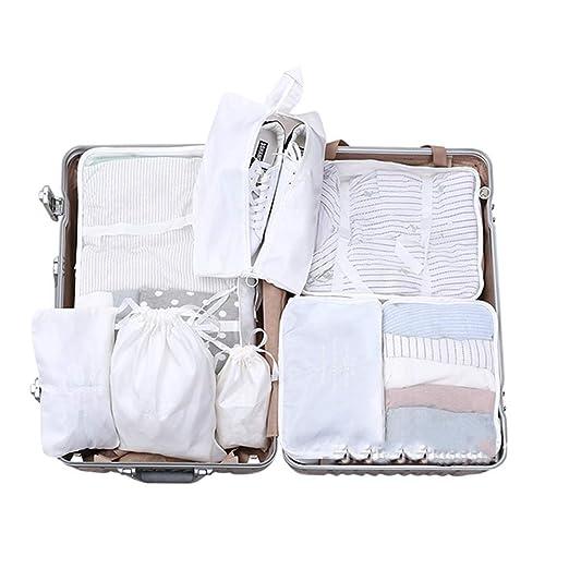 Bolsas de almacenamiento de viaje Conjunto de 8 piezas ...