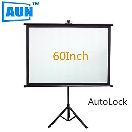 Liku técnicas AUN 60 pulgadas pantalla 4: 3 Soporte para proyector ...