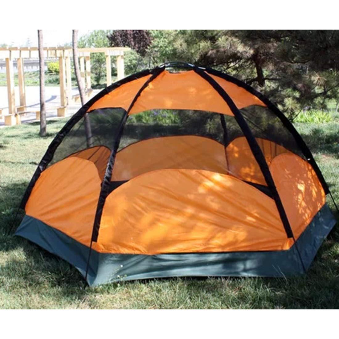 Ploekgda 8 Personen und 5 Personen Outdoor-Zelt  für Wilde Camping (Farbe   Outdoor-Zelt Orange) 15fc0f