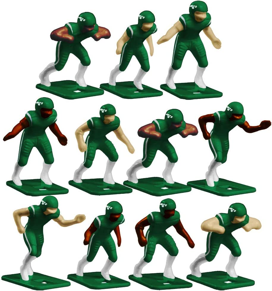 New York Jets Home Jersey NFL Action Figure Set