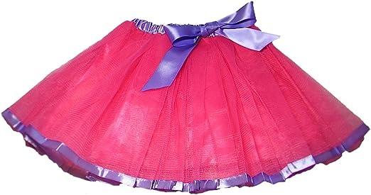 Falda de Tul Lizzie con Cinta de Contraste y Lazo - Tutú Enagua ...