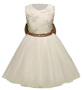 363ca7bfa84a Bevalsa Bevalsa Mädchen Bowknot Spitze Prinzessin Rock Sommer Sequins  Pailletten Kleider für Baby Kleinkinder Kinder Kostüm Partykleid 0-5 Jahre  Kleider  ...