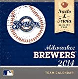 Turner - Perfect Timing 2014 Milwaukee Brewers Box Calendar (8051185)