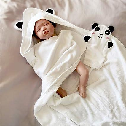 FIFY Fibra de bambú de Dibujos Animados Toalla de baño del bebé con ...