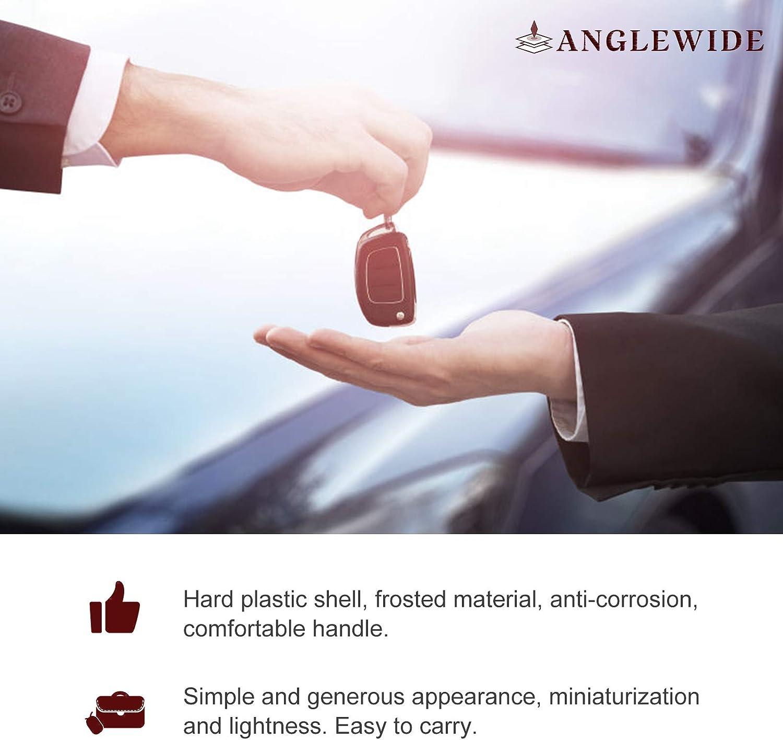 FCC CWTWB1U758 ANGLEWIDE Car Key Fob Keyless Entry Remote Replacement for 04-09 NISSAN ALTIMA MAXIMA 350Z ARMADA Infiniti EX35 FX35 FX45 4 Buttons Black 1pad