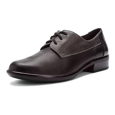 Womens Kedma Black Leather Shoes 38 EU Naot T7y8Z