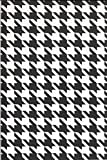 Mad Mats® Hounds Tooth Indoor/Outdoor Floor Mat, 5 by 8-Feet, Black and White