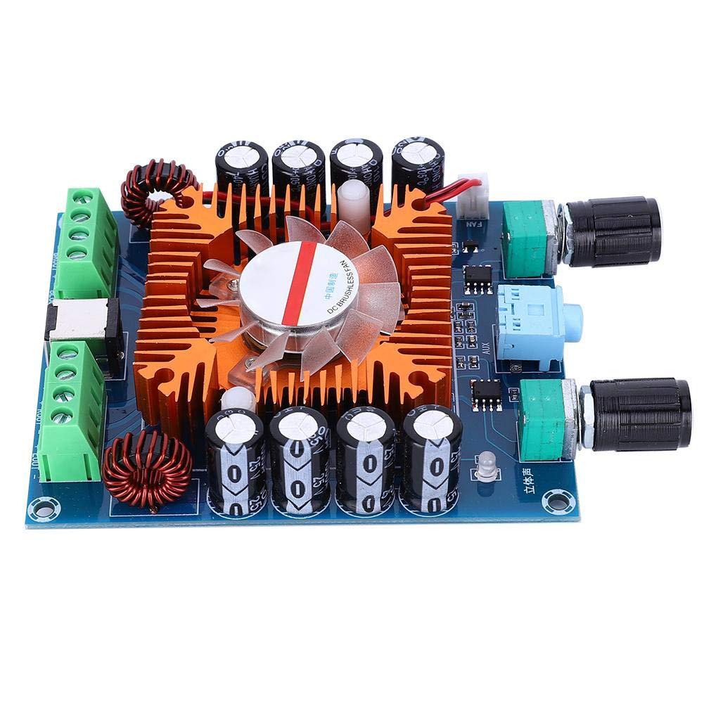 XH-A372 Placa de Amplificador Digital de 4 Canales TDA7850 Alta Calidad con Placa de Amplificador de Calidad de Sonido de Alta Definici/ón sin P/érdidas Placa de Amplificador de Potencia