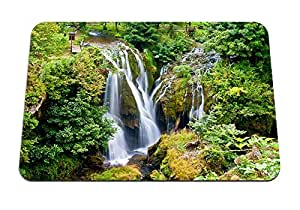 "forest falls - Gaming Mouse Pad - Mouse Pad - 10.24""x8.27"" inches"