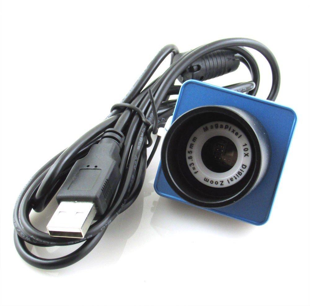 Zantec Obiettivo Digitale Binoculare Oculare Lente Elettronico, Accessori per telescopi astronomici,30W Pixel Fotocamere astronomiche da 1,25 Obiettivo digitale USB