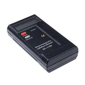 Detector de radiación electromagnética EMF Meter dosímetro Tester DT-1130: Amazon.es: Oficina y papelería