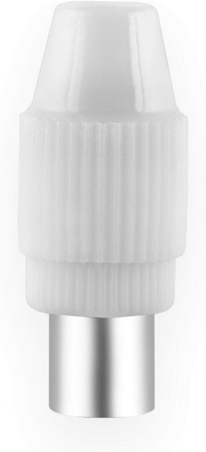 conector hembra IEC HB-DIGITAL Conector hembra de antena coaxial para televisi/ón DVB-C y DVB-T2