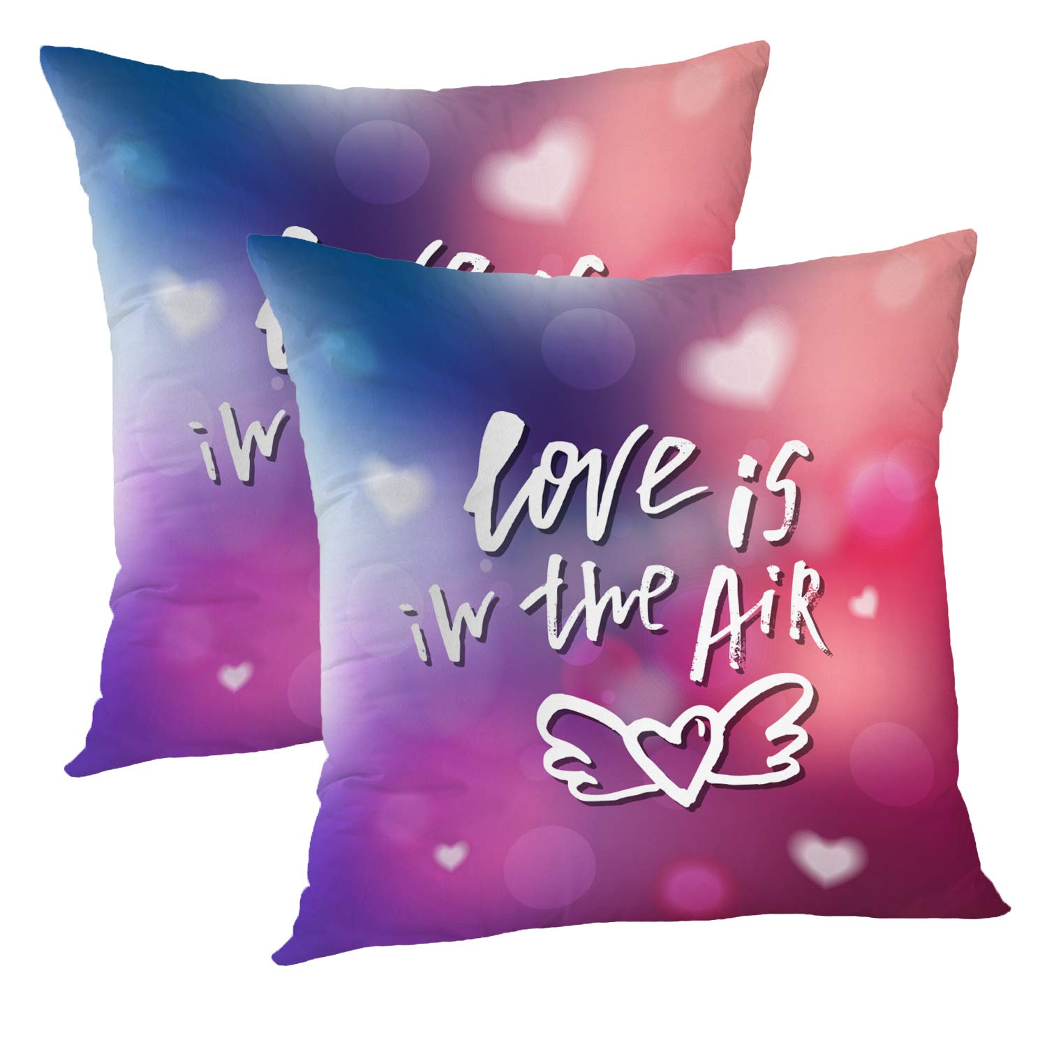 Amazon.com: Batmerry Quote Pillow Cover 18x18 Inch Set of 2 ...