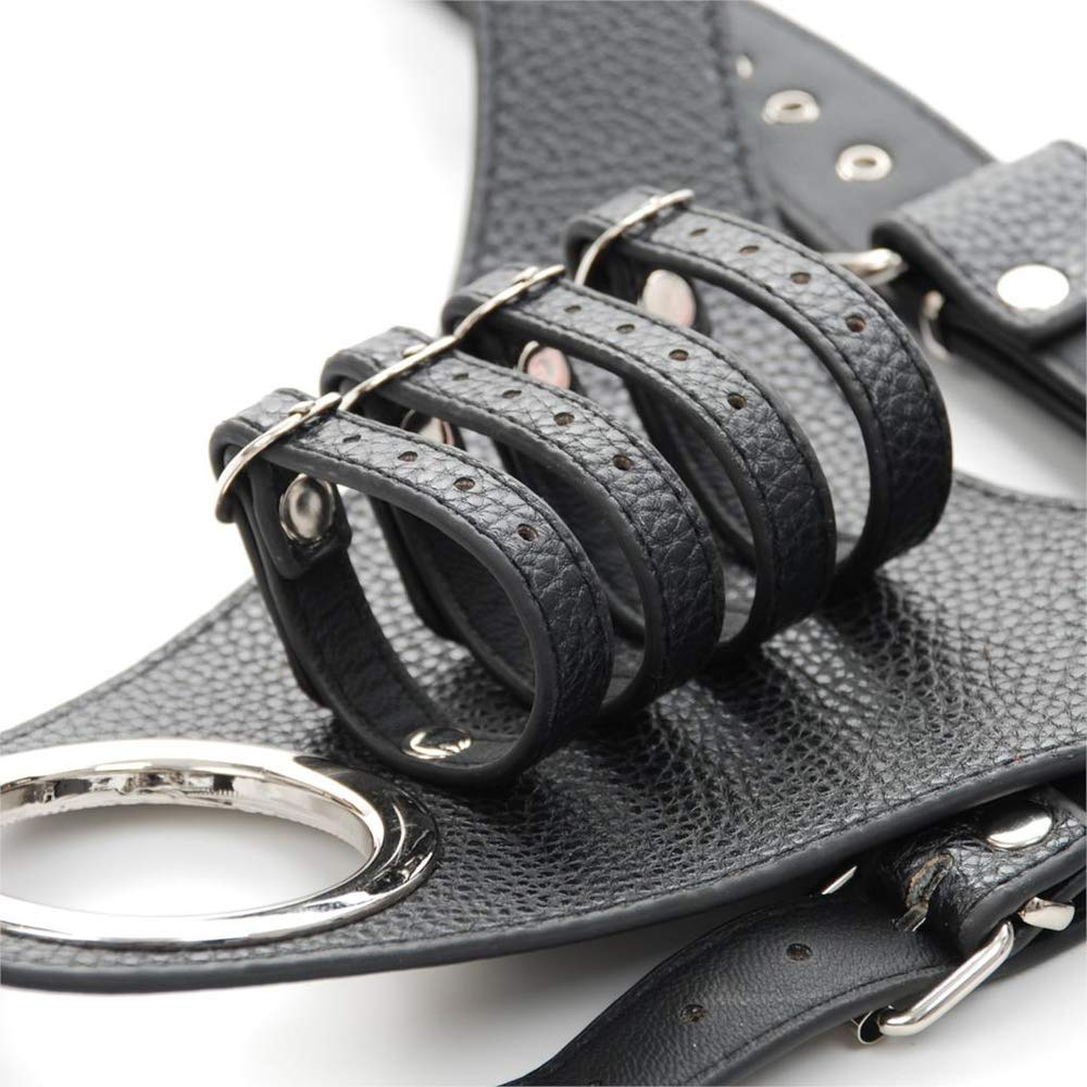 1pc Leather Fixed P/ênnis Ring Male Ch/ástity Device Belt P/ênnis Sleeve P/ênnis Cage for Men P/ênnis Rings