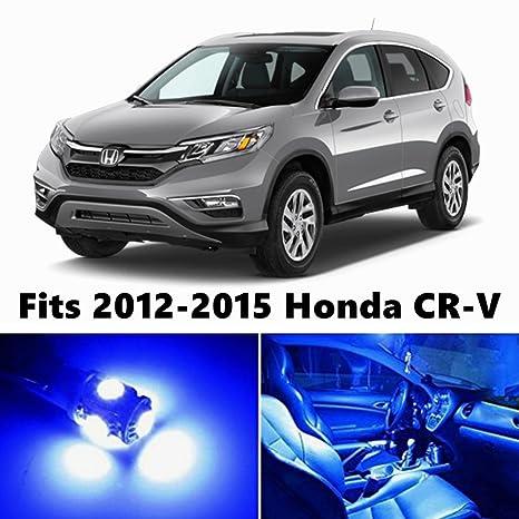 8 x PREMIUM azul LED luces interior kit de paquete para para 2012 – 2015 Honda