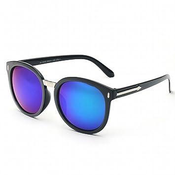 Große Rahmen Polarisierte Sonnenbrille HD Reise Sonnenbrille,BlackBoxBlueMercury