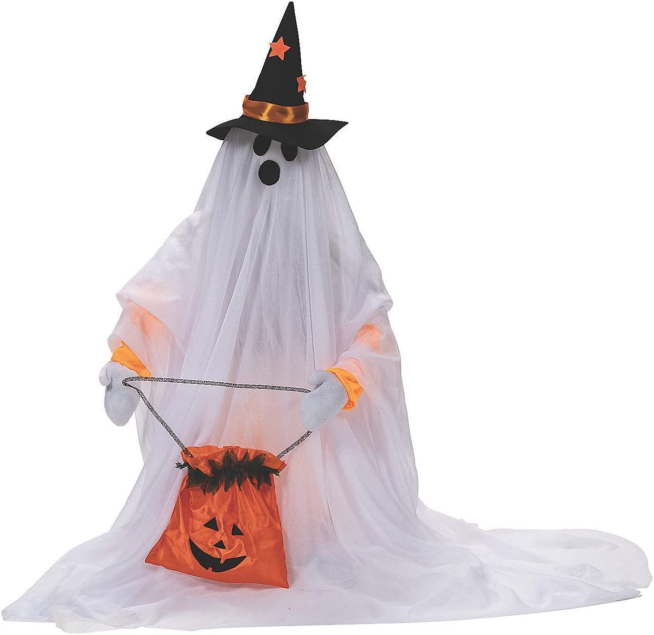 Fun Express Cute Standing Animated Ghost Halloween Decoration