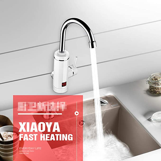 Calentador eléctrico de Agua eléctrico instantáneo Grifo de Agua ...