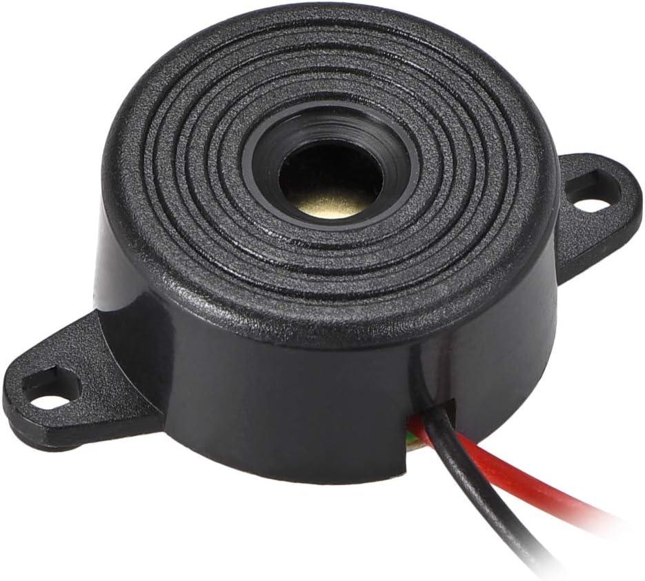 uxcell DC 24V Active Electronic Buzzer Alarm Piezo Sounder Continuous Sound Beep Speaker