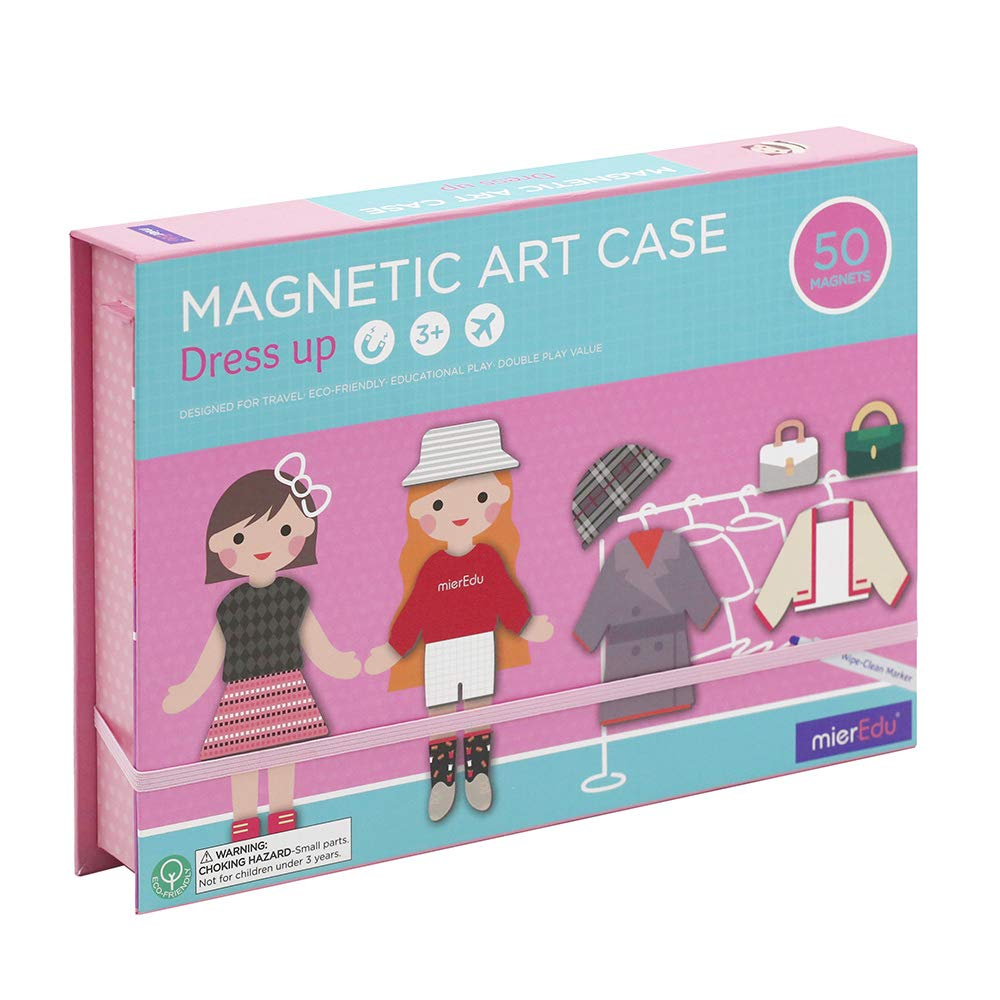 Love&Mini Educational Magnetic Jigsaw Puzzles for Kids Toys - Early Learning Gift with Drawing Easel Board for Boy Girl Preschool Toddler Ages 3 up