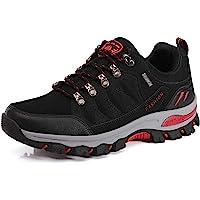 WOWEI Zapatos de Senderismo Al Aire Libre Ocio Deportes Impermeable Antideslizantes Escalada Trekking Sneakers Zapatos…