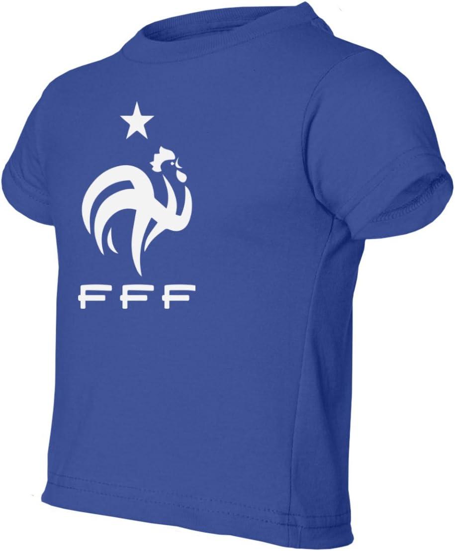Tcamp France 2018 National Soccer #10 Kylian MBAPPE World Championship Little Kids Girls Boys Toddler T-Shirt