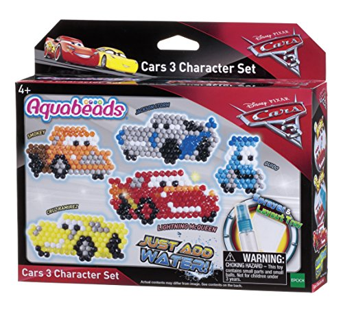 AquaBeads Cars 3 Character Set Toy
