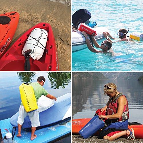 Tube Borsa Canottaggio Snowboard Litri A Unisex Kayak Blue Regolabile Campeggio Per Blu Nuoto Con Rafting Tracolla Dry Impermeabile Waterproof Pesca E 5 BfqwBTr