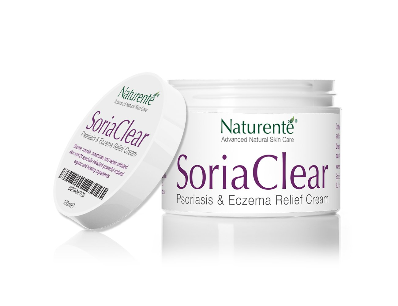 Naturenté SoriaClear 21 natural ingredients relief from itchy and flaky dry  skin