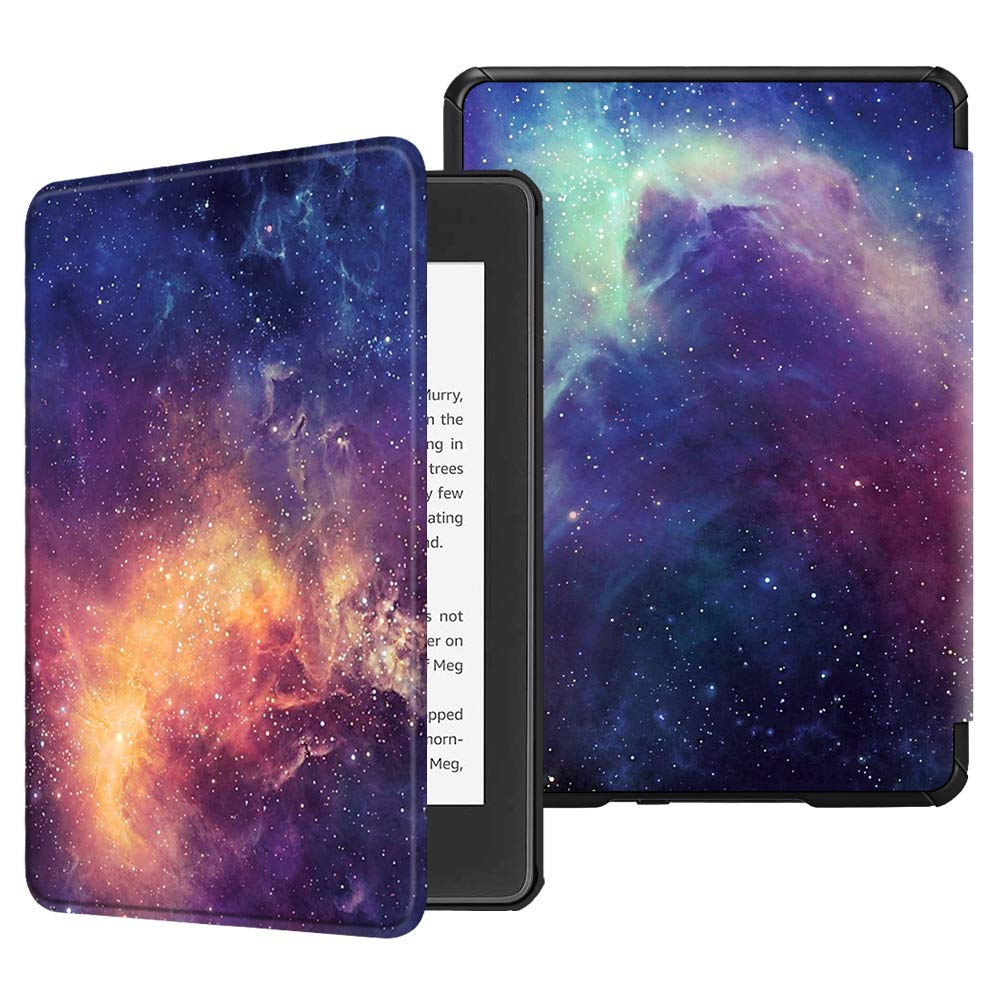 10th Generation, 2018 Release Fintie Slimshell Case Compatible with Kindle Paperwhite Not Fit Kindle 10th Gen 2019 Library Lightweight Protective Cover with Auto Sleep//Wake