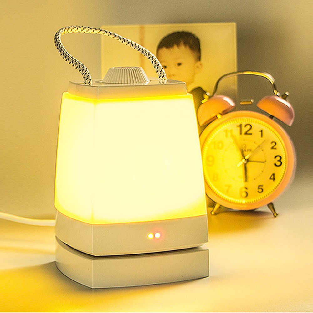 Baby Night Light,USB Portable LED Lamp for Kids Girls Bedroom Nursery (Yellow Light) by Funwill