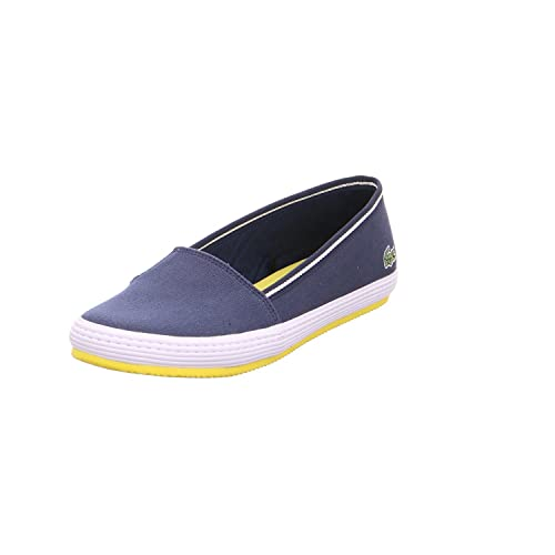 4b878ba4 Lacoste 733caw1043003 - Mocasines para mujer, color azul, talla 38 EU:  Amazon.