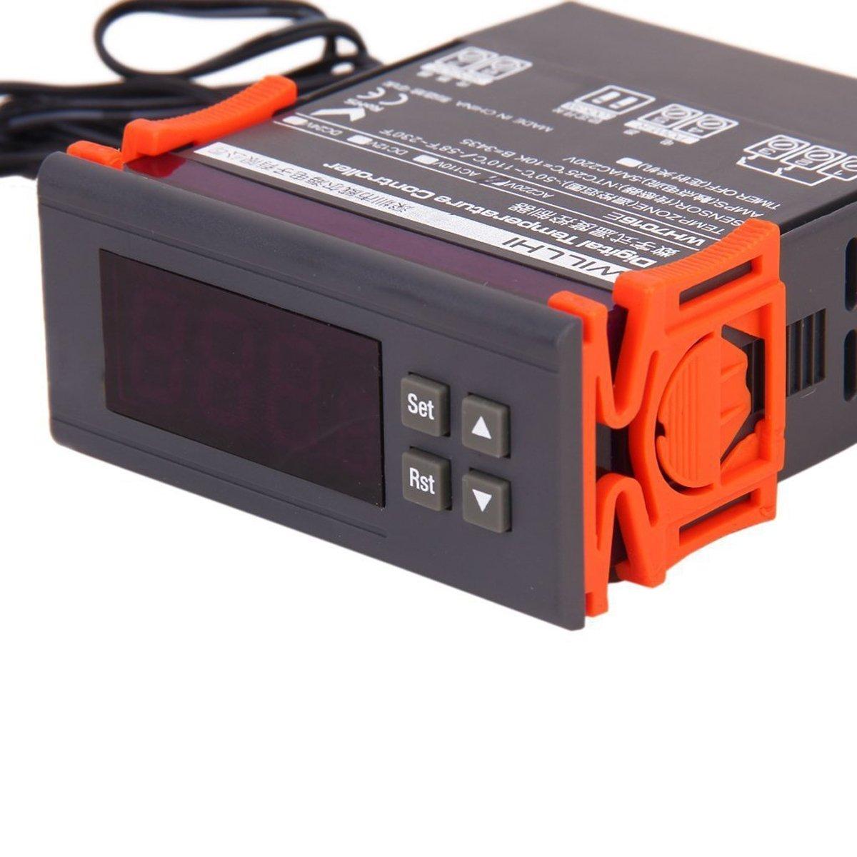 Foxnovo willhi WH7016E + AC 220 V 10 A digital Temperatura ...